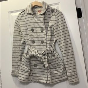Stripped Sweater jacket